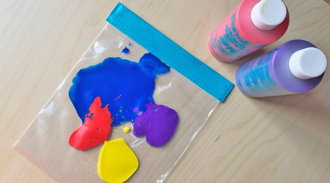 Colour Mixing in a Bag
