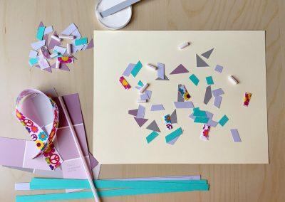 Scissor Skills & Mosaic Art