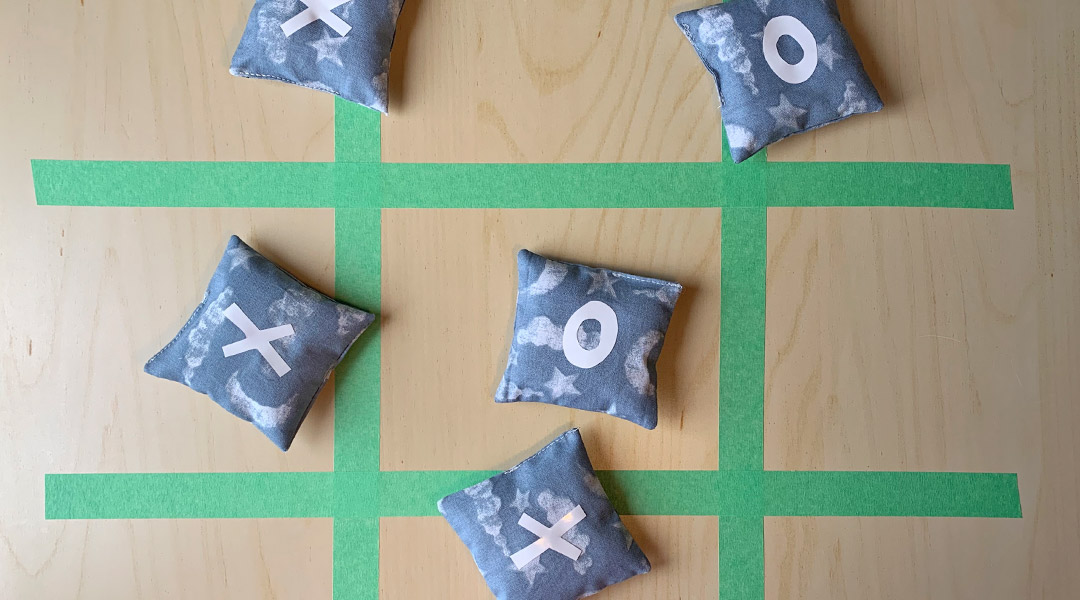 Bean Bag Tic-Tac-Toe