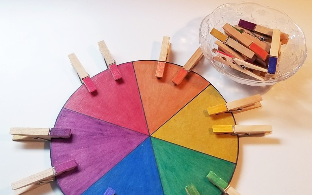 Colour Matching Wheel