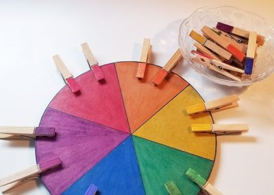 Colour Matching Wheel
