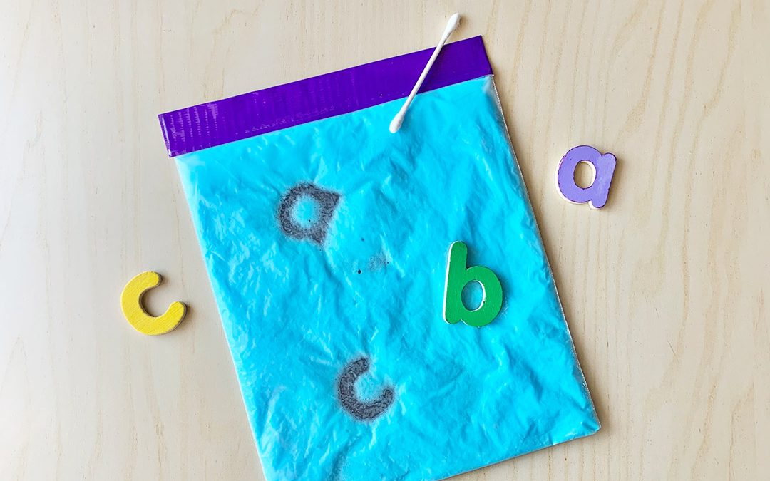 Sensory Writing Bag