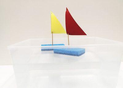 Sponge Sailboat