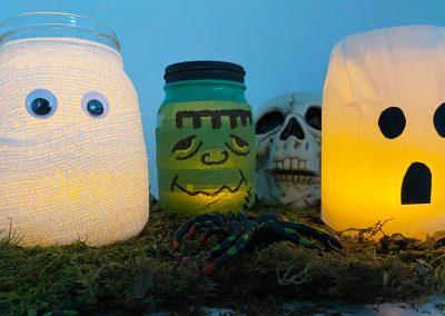 Mason Jar Luminaries – Halloween Activity