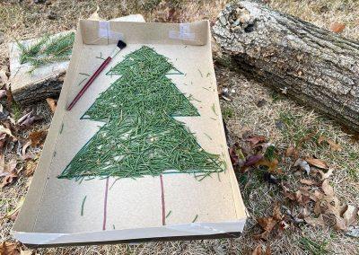 Pine Needle Sweep