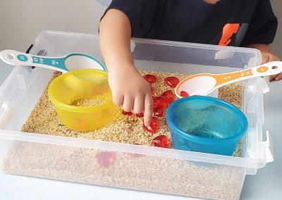 Rice & Gems Sensory