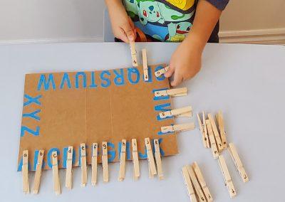 Alphabet Case Match